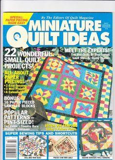 Miniature Quilt Ideas No 10 - Taniapatchcountry - Álbuns da web do Picasa