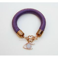 Purple Eye Toolittle Rope Bracelet #rope bracelet