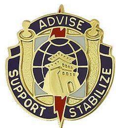 95th Civil Affairs Brigade Unit Crest (Advise Support Stabilize)