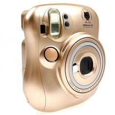 Fujifilm 25 Instax Mini Camera (Hello Kitty Gold Limited Edition) Front View