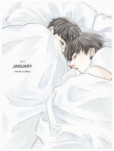 [ zizikk, her stupid feelings & star… # Losowo # amreading # books # wattpad Jaebum, Youngjae, Jinyoung, Jikook, Exo Fanart, Markson, Boy Illustration, Kpop Drawings, Close My Eyes