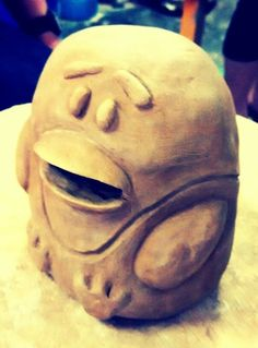 Uph pottery 1. Project 1: coin/money bank. May 2015. Rudy