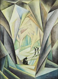 Jerzy Hulewicz - Kompozycja, 1920