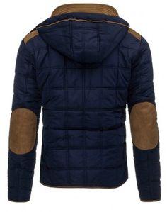 Pánska zimná bunda (tx1375) - granátová