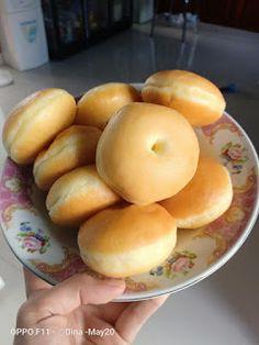 Donut Recipes, Bread Recipes, Cake Recipes, Homemade Donuts, Doughnuts, Bakery, Food And Drink, Snacks, Cookies