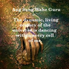 Kundalini Yoga Mantra 'Ang Sang Wahe Guru' with meaning. <3