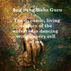 Kundalini Yoga Mantra 'Ang Sang Wahe Guru' with meaning. <3