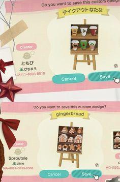 Animal Crossing Guide, Qr Codes, Cute Designs, Print Design, Nintendo, Custom Design, Fan Art, History, Pattern