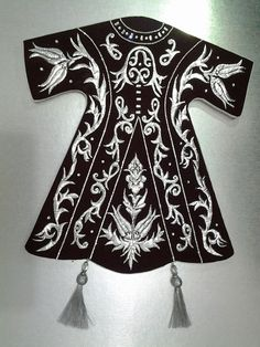 g Metal Worx, Turkish Art, Gold Work, Islamic Art, Needlepoint, Design Art, Women Wear, Costumes, Embroidery