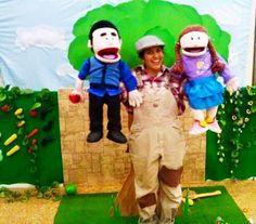 מתוך הצגת ילדים חדשה, המבוססת על הסיפור האהוב 'מר זוטא ועץ התפוחים'. ההצגה מתאימה לגילאי 3-7 ואורכת כ 40 דקות
