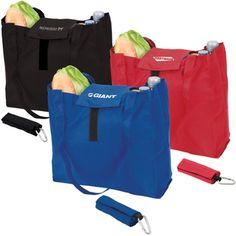 Promotional Tote Bag - Custom Imprinted Foldable Logo Tote Bag 100 $3.99 250 $3.59 500 $3.29