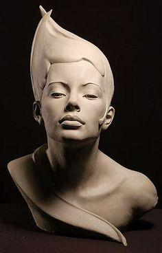 Portrait Sculptures by Philippe Faraut. Philippe Faraut is a talented sculptor. Famous Sculptures, Sculptures Céramiques, Art Sculpture, Toy Art, Pablo Picasso, Art Plastique, Ceramic Art, Statues, Sculpting