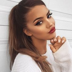 Can you come do our makeup pls our babe @graciepiscopo wears our Deluxe Bronzing Mousse in Ultra Dark