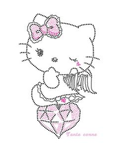 Hello Kitty diamant