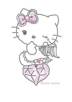 Hello Kitty diamant