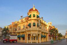 Main Street USA in Disneyland Paris DLP
