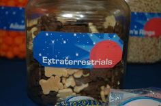 extraterrestrials... not that 3 year olds would have any clue what that means. lol