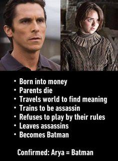 Game of Thrones Quotes — Arya Stark