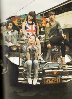 fashion in Korea, 2NE1