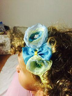 Fascia, fiocco, nastro capelli, baby, headband, bow, satin , ribbon,