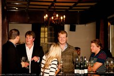 Friends, wine and plenty of talk! :)