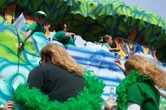 Biloxi Goes Green: Grillin' and Parading for St. Patrick's