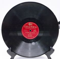 """1950 78 RPM 10"""" Shellac Columbia Record #39067 - Guy Mitchell, The two tracks are """"My Heart Cries For You"""" and """"The Roving Kind."""" - Play-Rated as G - $2.95"""