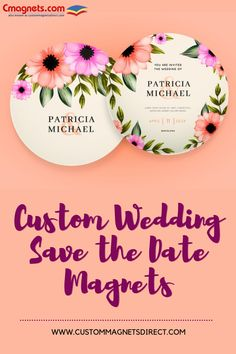 Add a personal touch to your event announcement! #savethedatemagnets #weddingmagnets #savethedate #circlemagnets #indoormagnets #indoor #wedding #circleshape #customweddingmagnets #announcementmagnets Circle Magnets, Save The Date Magnets, Indoor Wedding, You Are Invited, Circle Shape, Wedding Save The Dates, Personalized Wedding, Announcement, Dating
