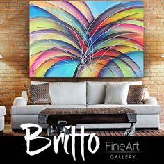 Quadros Abstratos Decorativos 150cm x 70cm QB147