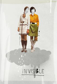 Invisible | Collage by Ju. Ulvoas