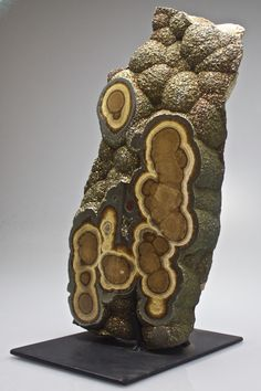 Barite and Marcasite Stalactite. This and more rare mineral specimens for sale on CuratorsEye.com