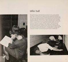 "Athena yearbook, 1966. ""Tiffin Hall."" :: Ohio University Archives"