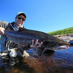 Like to catch an atlanic salmon? #aosfishing #salmon #finatical #flyfishing #fliegenfischen #pescamosca #graz #styria #steiermark #onlineshop #picoftheday #photooftheday #lovefishing #austria #fluefiske #looplife #looparmy #catchandrelease #yokanga #russia #finatical #speycasting