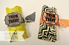Adorable treat packaging made with the Envelope Punch Board