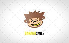 Fun Monkey Head Logo For Sale #creative #lab #logo #logos #vector #design #animal #animals #website #blog #stock logos for sale monkey banana logos for sale logo for sale