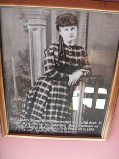 Wyatt Earp's second wife was a Soiled Dove.  She later committed suicide.