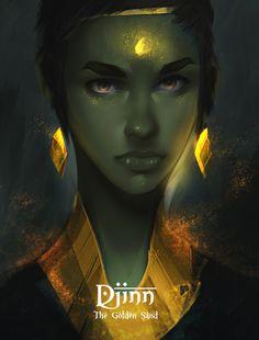 Djinn: The Golden Sand, Dimitri Jakubowski on ArtStation at https://www.artstation.com/artwork/152NG