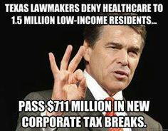 Image result for rick perry & corporate welfare