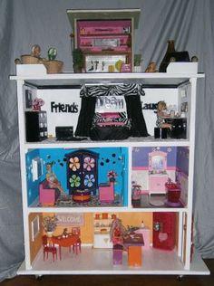 13 most inspiring diy large barbie dollhouse self made images doll rh pinterest com