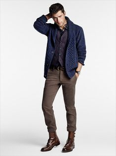 Not sold on the quilted waistcoat but ♡♡♡ the rest! Sean O'Pry for Massimo Dutti September 2014 Lookbook