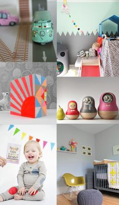 {1.masking tape 2. room 3. blocks 4. little red hood 5. milestone cards 6. room} Coretty's online shop psikhouvanjou is always a source of information for me to find great things for kids. So no wonder her pinterest bards are...