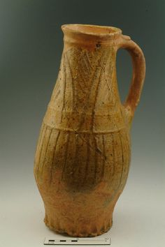 Jug Production Date: Early Medieval; mid-late 13th century