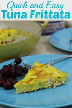 Need a fresh idea for dinner? Our quick frittata recipe with tuna is the perfect meal when dinner needs to be quick, easy, and gluten free. #OnlyAlbacore #CG #BumbleBeeTuna #ad @Bum