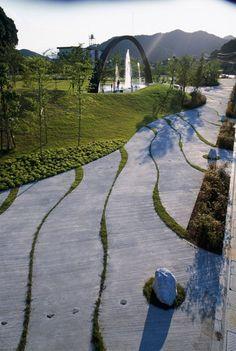Saiki Peace Memorial Park, Japan