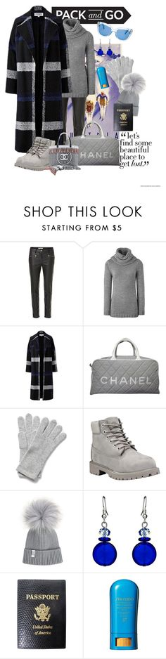 """PLUS SIZE Winter 16/17"" by foolsuk ❤ liked on Polyvore featuring Betty Barclay, Helene Berman, Chanel, Timberland, Martick, Mark Cross, Shiseido and Kate Spade"