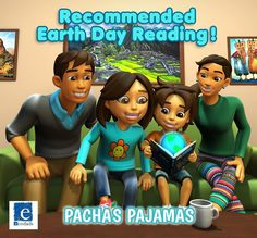 Recommended Earth Day Reading!  The recently published Animated Book Pacha's Pajamas: A Story Written By Nature includes many reminders for children about their connectedness with nature others and themselves. It also has climate change in its through line and deals with many environmental and self awareness issues. Hence Pachas Pajamas is recommended reading for Earth Day 2016 by EcoDads.  Purchase the Children's Earth Day Book TODAY: The link is in our bio.  #earthday #earthweek…