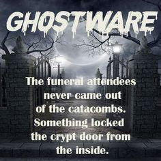 Ghostware the sci-fi horror movie Sci Fi Horror Movies, Horror Film, The Catacombs, Sci Fi Fantasy, Feature Film, Funeral, Falling In Love, Writer, Tv