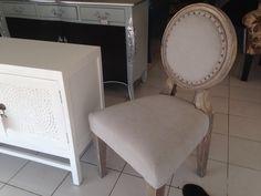 Grey finishing chair