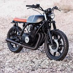 """bikebound: """"Yamaha XS750 by @jadusmotorcycleparts, who is making some sweet parts for the Yamaha thumpers – check 'em out! :: #yamaha #xs750 #tracker #brattracker """""""