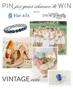 Blue Nile and Style Me Pretty Pin to Win Contest!  Read more - http://www.stylemepretty.com/2013/06/18/blue-nile-and-smp-pin-to-win/